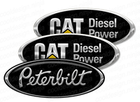 2-Pack CAT Peterbilt Skin