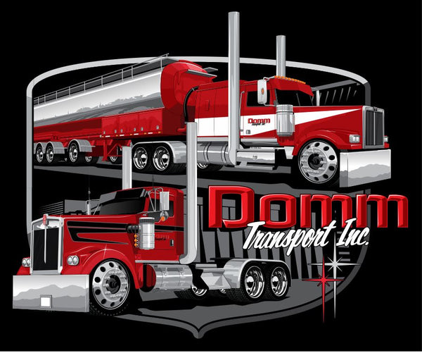Domm Transport T-Shirt Design