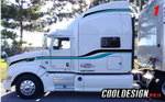Central Peterbilt 386 Stripe Kit
