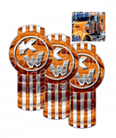 Copper Kenworth Emblem Skin Kit