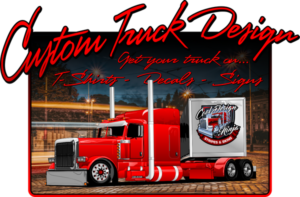 Full Custom Truck Graphic Design Slot