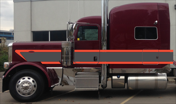 "70"" Peterbilt 389 HD Wedge Stripe Kit"