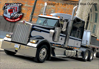 Kenworth W9 Seminole Stripe