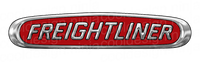 "Red Freightliner Logos 2 x 10""x2"""