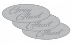 Grey Ghost Peterbilt Emblem Skins
