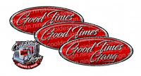 Good Times Gang Peterbilt Emblem Skins