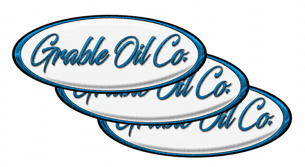Grable Oil Peterbilt Emblem Skins