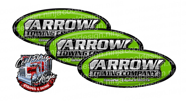 Green Arrow Trucking Peterbilt Emblem Skins