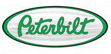 Green Peterbilt Emblem Skin 3-Pack