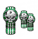 Green Skull Kenworth Kit Emblem Skins