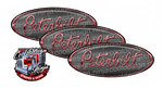 Grey Light Rose Peterbilt Emblem Skins