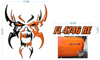 HD Fan Boat Rudder Graphics