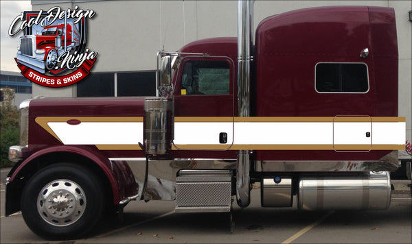 "70"" Peterbilt HD Wedge Stripe Kit"