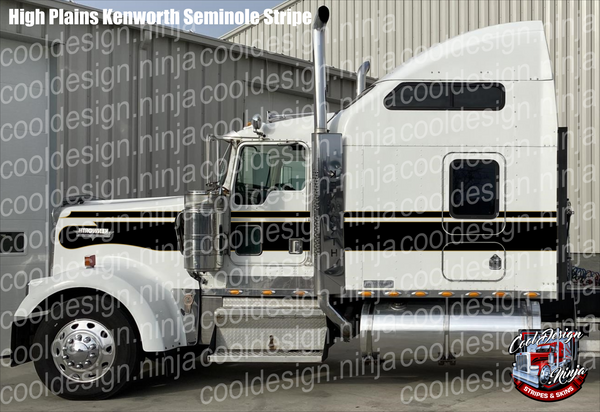 High Plains Seminole Kenworth Stripe Kit