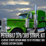 "63"" Peterbilt 379/389 ""Hot Rod"" Stripe Kit"