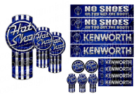 Hot Shot Kenworth Kit Emblem Skins