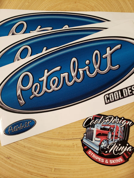 In-Stock Special - 3-Pack of Blue Pete Emblem Skins