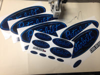In-Stock Special - Blue Flame Peterbilt Emblem Skins