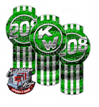 Green 208 Kenworth Emblem Skin Kit