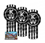 Vertical Kenworth Emblem Skin Kit