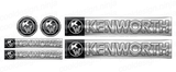 Dark Blue Kenworth W900 Interior Emblem Skins