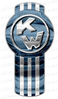 Faded Blue Kenworth Emblem Skins x 3