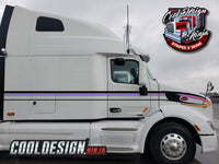 Peterbilt 579 AeroDrop Stripe Kit