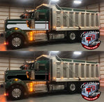 Daycab Kenworth W9 Seminole Stripe