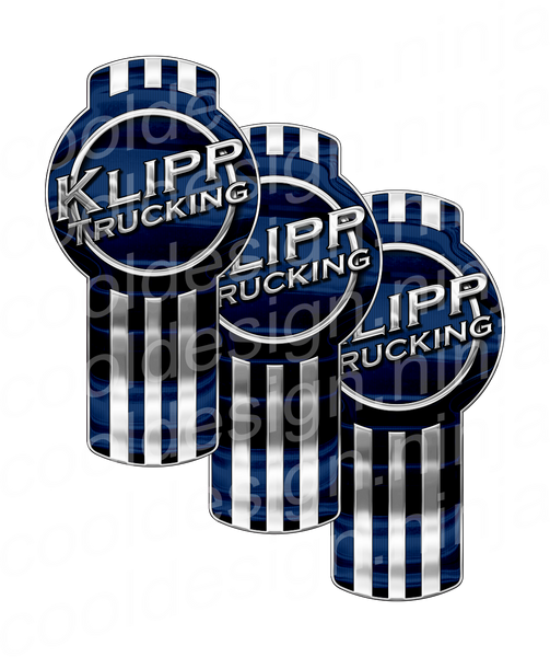Klipp Trucking Kenworth Emblem Skin Kit