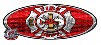 Fire Department Sign Decal
