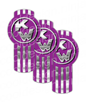 Light Purple Kenworth Emblem Skin Kit