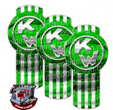 Monster Energy Green Kenworth Emblem Skin Kit