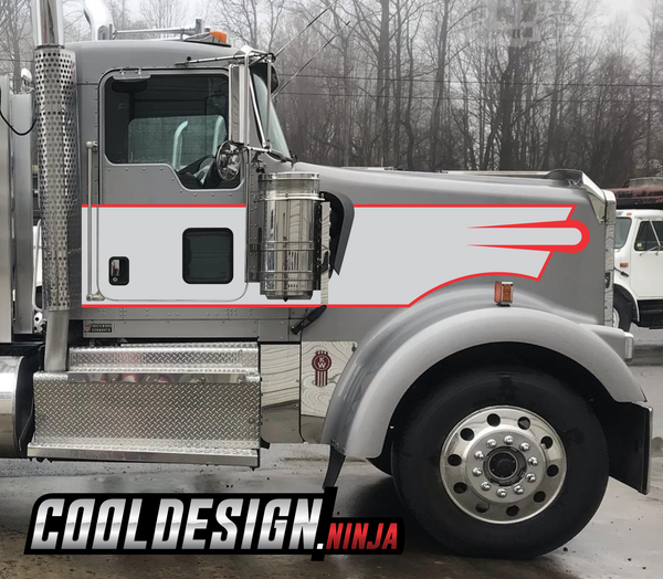 Olympic Kenworth Stripe Kit