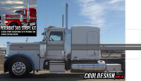 "63"" Peterbilt 389 ""Coastal"" Stripe Kit"