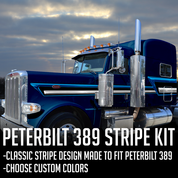 "63"" Peterbilt 389 HardLine Stripe Kit"