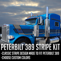 "63"" Peterbilt 389 Modcon Stripe Kit"