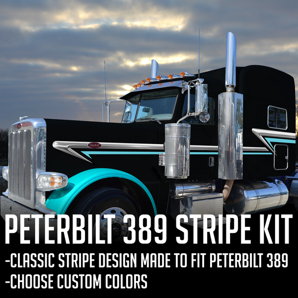 "63"" Peterbilt 389 ""Trailing Wedge"" Stripe Kit"