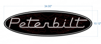 Peterbilt Window Decal
