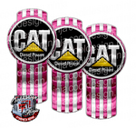 Pink CAT Kenworth Emblem Skin Kit