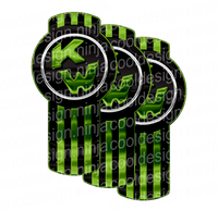 Charcoal Green Chrome Kenworth Emblem Skins