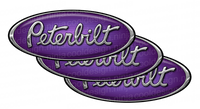 Purple Peterbilt Emblem Skins