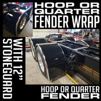 Rear Fender Wraps - Hoop or Quarter Fenders