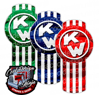 RGB Kenworth Emblem Skin Kit