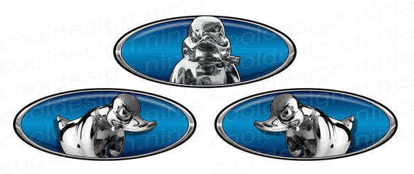 Rubber Duck Pete Emblem Skin 3-Pack