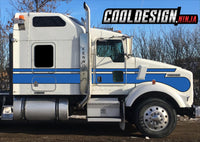 T800 Kenworth Seminole Stripe Kit
