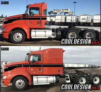 Kenworth T660 Flying Seminole Stripe