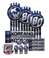 Unit 180 Koreano Kenworth Emblem Skin Kit