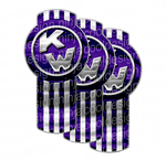 Voorhees Purple Kenworth Emblem Skin Kit