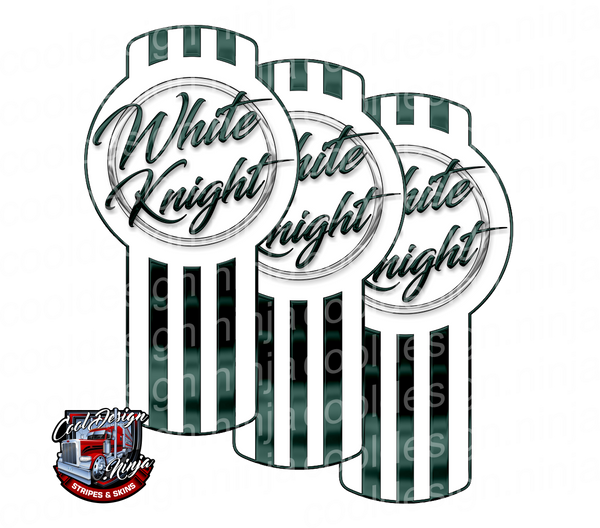 White Knight Kenworth Emblem Skin Kit