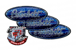 Blue Olympic Kenworth Emblem Skin Kit
